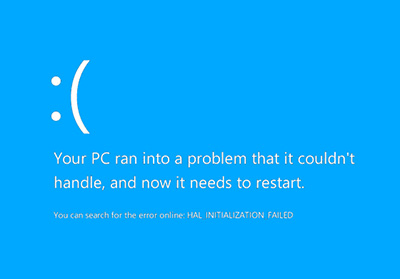 Blue Screen Error