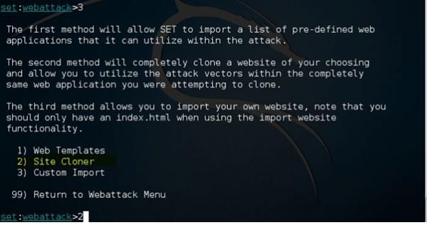 Phishing Attack using Kali Linux