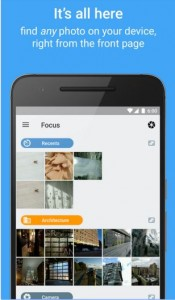 Gallery Apps Focus
