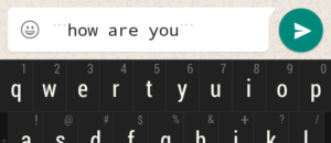 Whatsapp font