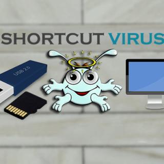 remove shortcut virus using cmd