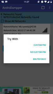 Hack WiFi Password Using AndroDumpper