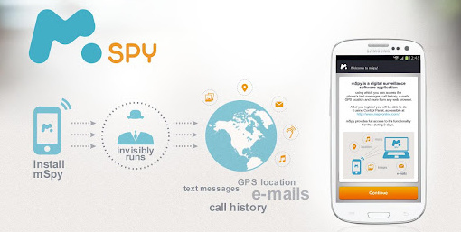 mSpy: Spy on cell phone