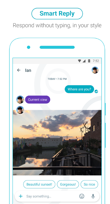 Google Allo Smart reply