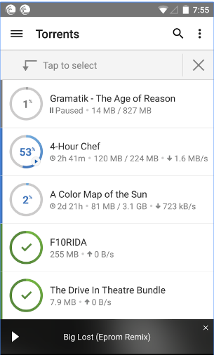 Download Torrent from Android Mobile Device
