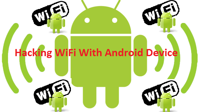 password wifi hacker android
