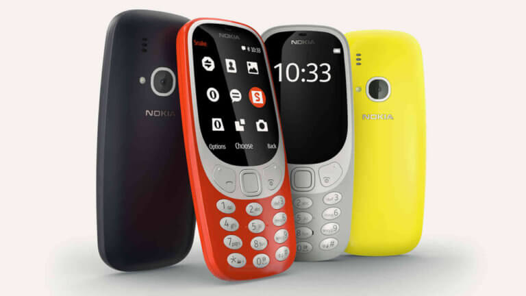 New Nokia 3310 launched in India @ Rs 3310