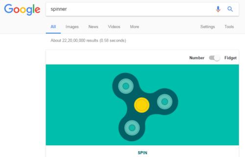 Google SPinner