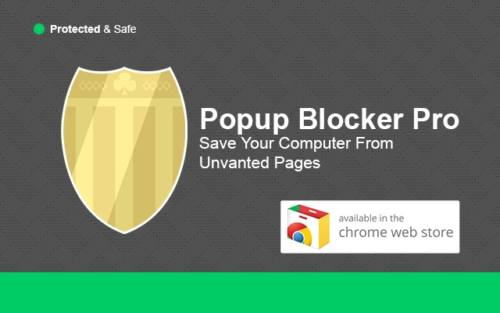 free popup blocker for chrome